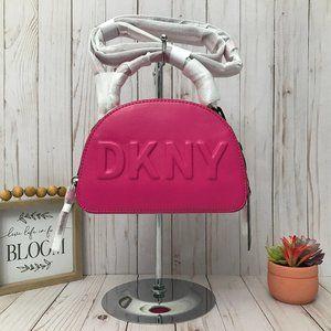 DKNY Tilly Mini Dome Crossbody Bag Pink